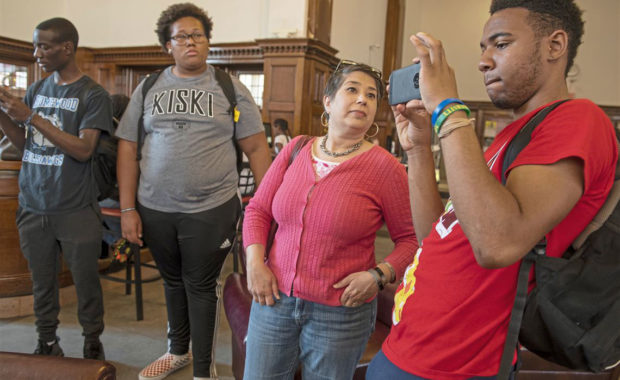 Homewood Teens Research Photo History of Their Neighborhood for Pitt Exhibit