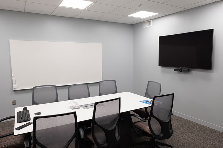Photo of the conference room at the CEC in Homewood