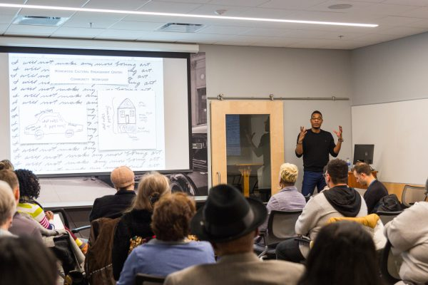 Terrance Hayes Heats Up Homewood with Poetry and Community